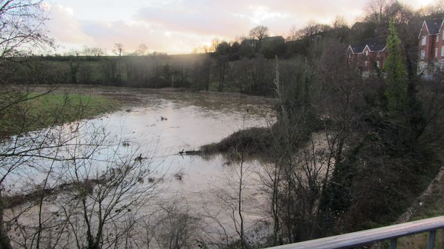 Flooding at Adderwell December 2020